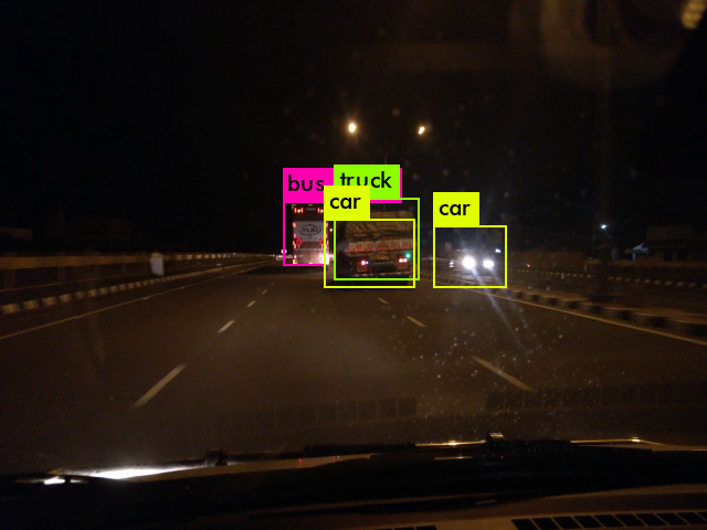 Complications of Cameras in Night for Self Driving Cars