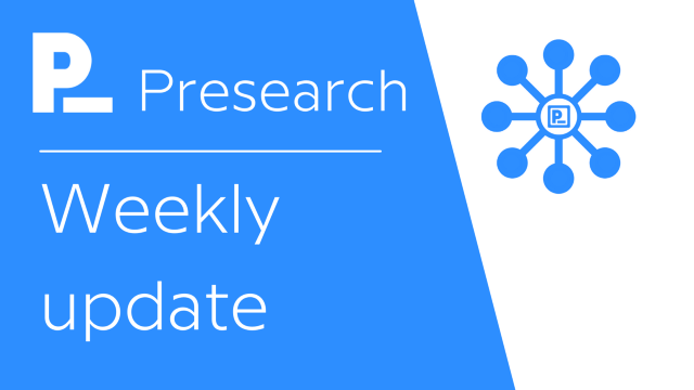 Presearch Weekly News & Updates w Colin Pape #36 — 8 ต.ค. 2021