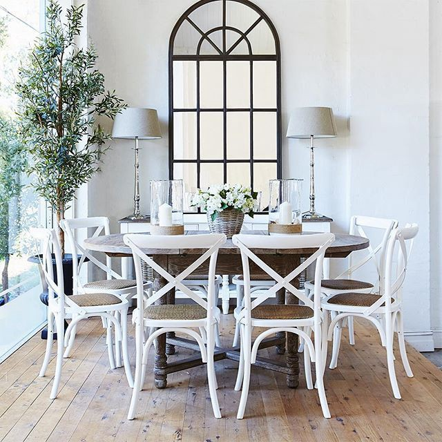 Why Should You Rent Cross Back Dining Chairs