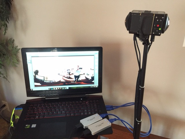 Building a 360 Video live streaming system
