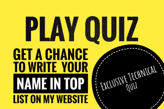 Your is quiz name what Quiz: What's
