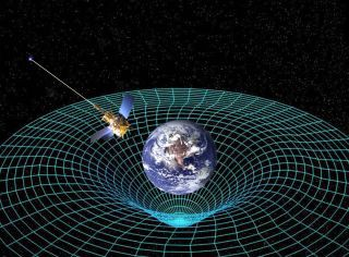 Rubber-sheet analogy of General Relativity. Credit: space.com