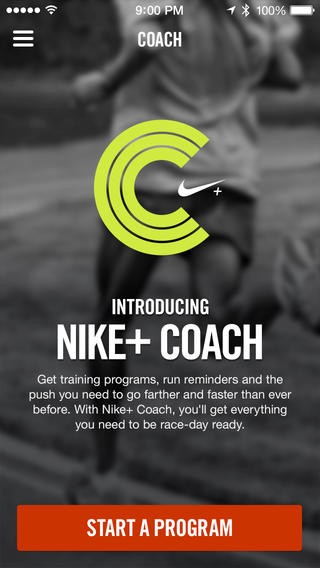 A better coach in Nike+?. The Nike+