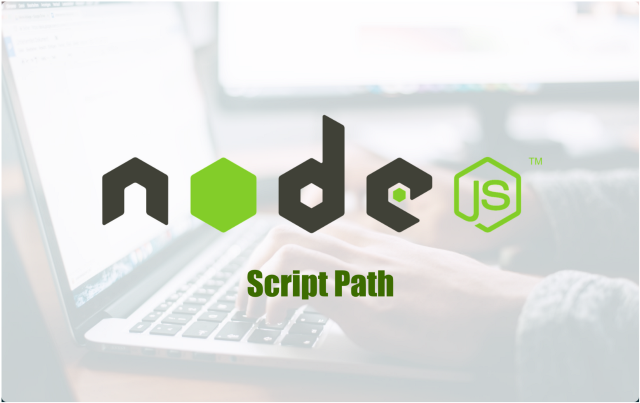 This is how you can find the path of the script file running on Node.js