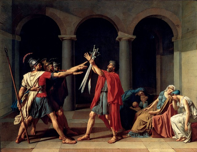 """David's """"Oath of the Horatii"""": The Ultimate Neoclassical Manifesto"""