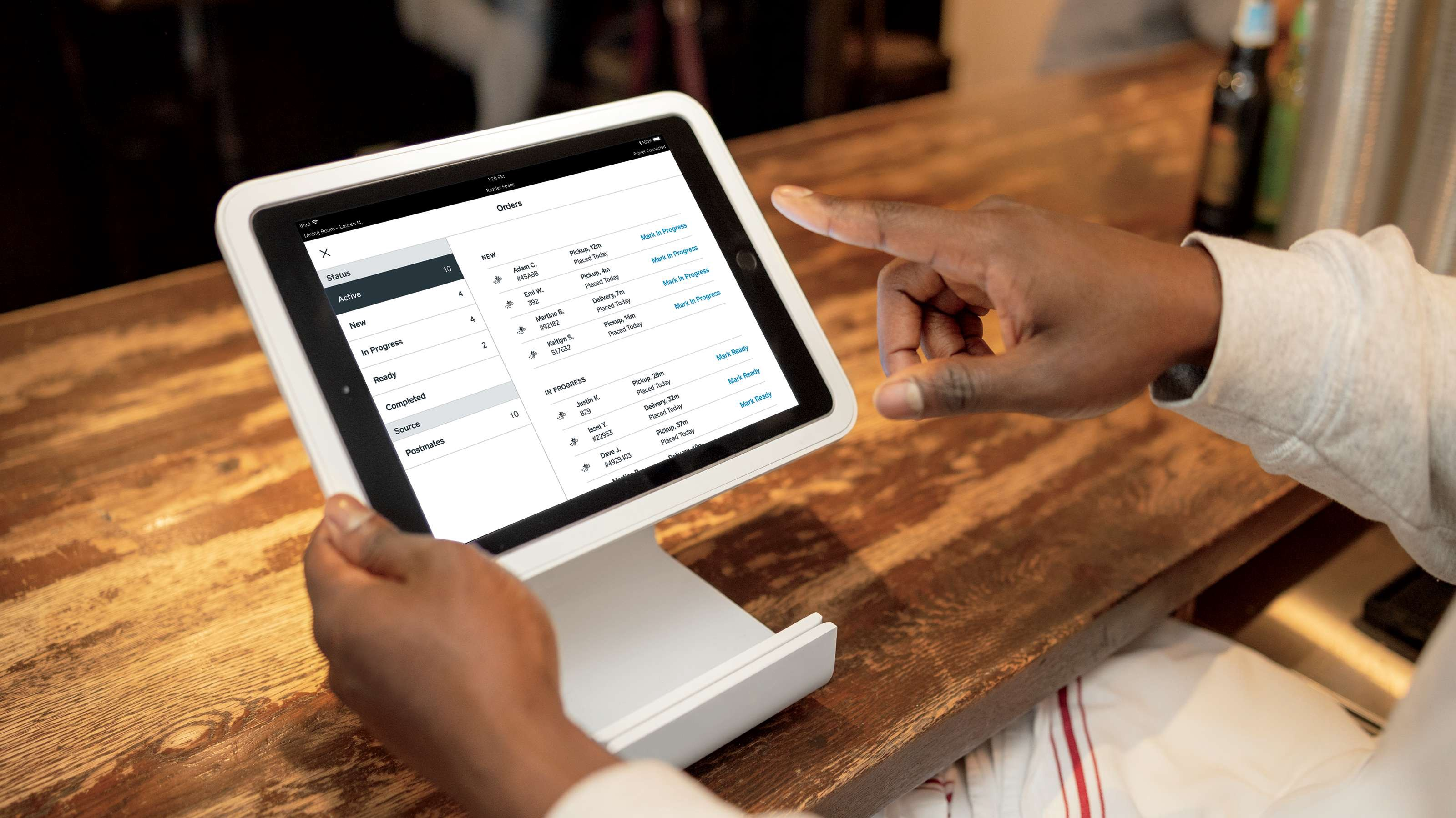 Postmates Partners With Square For Restaurant Order Management
