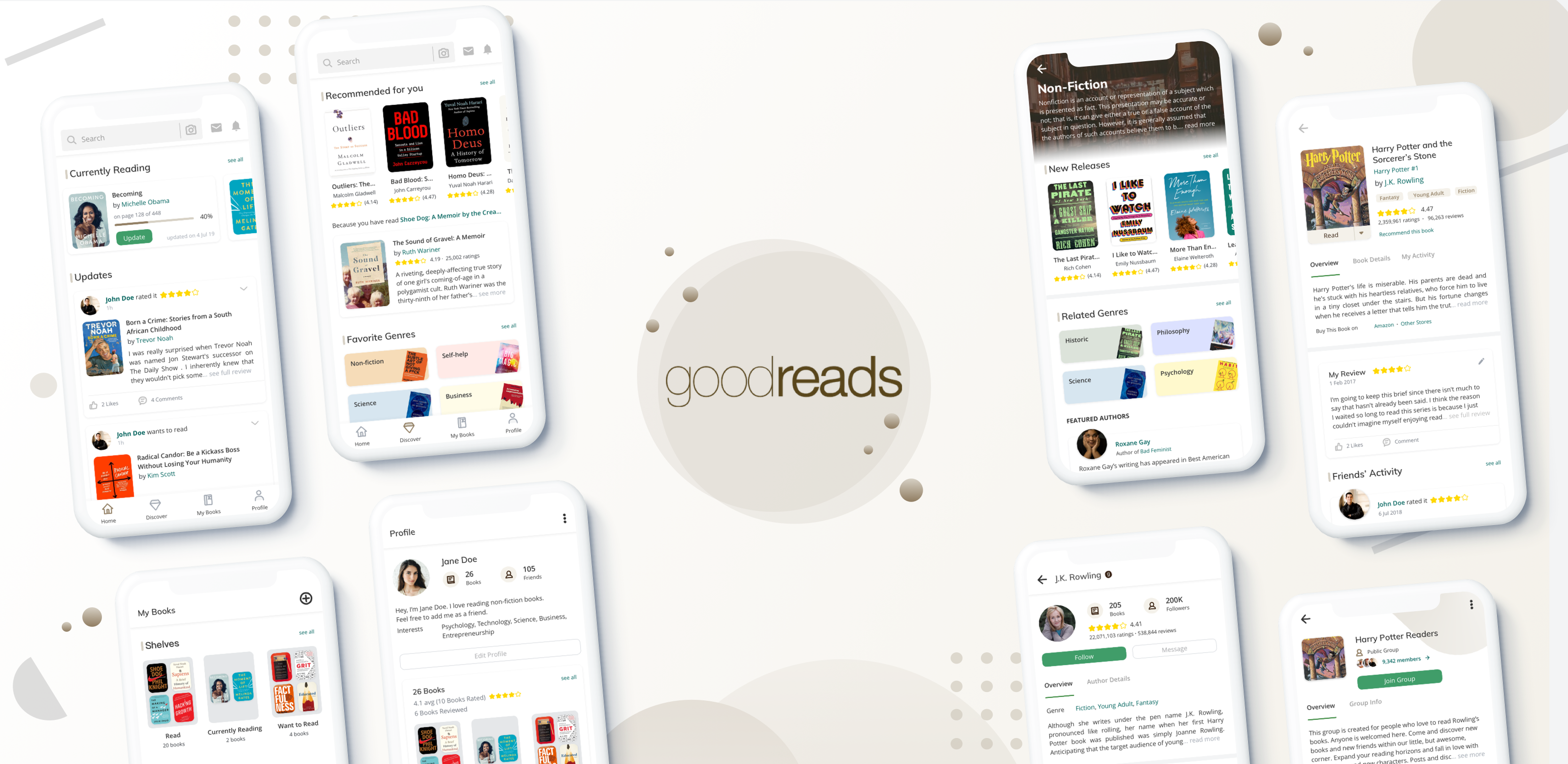 Goodreads App Ux Case Study Exploring Possibilities For A Better By Sylvie Stephanie Muzli Design Inspiration