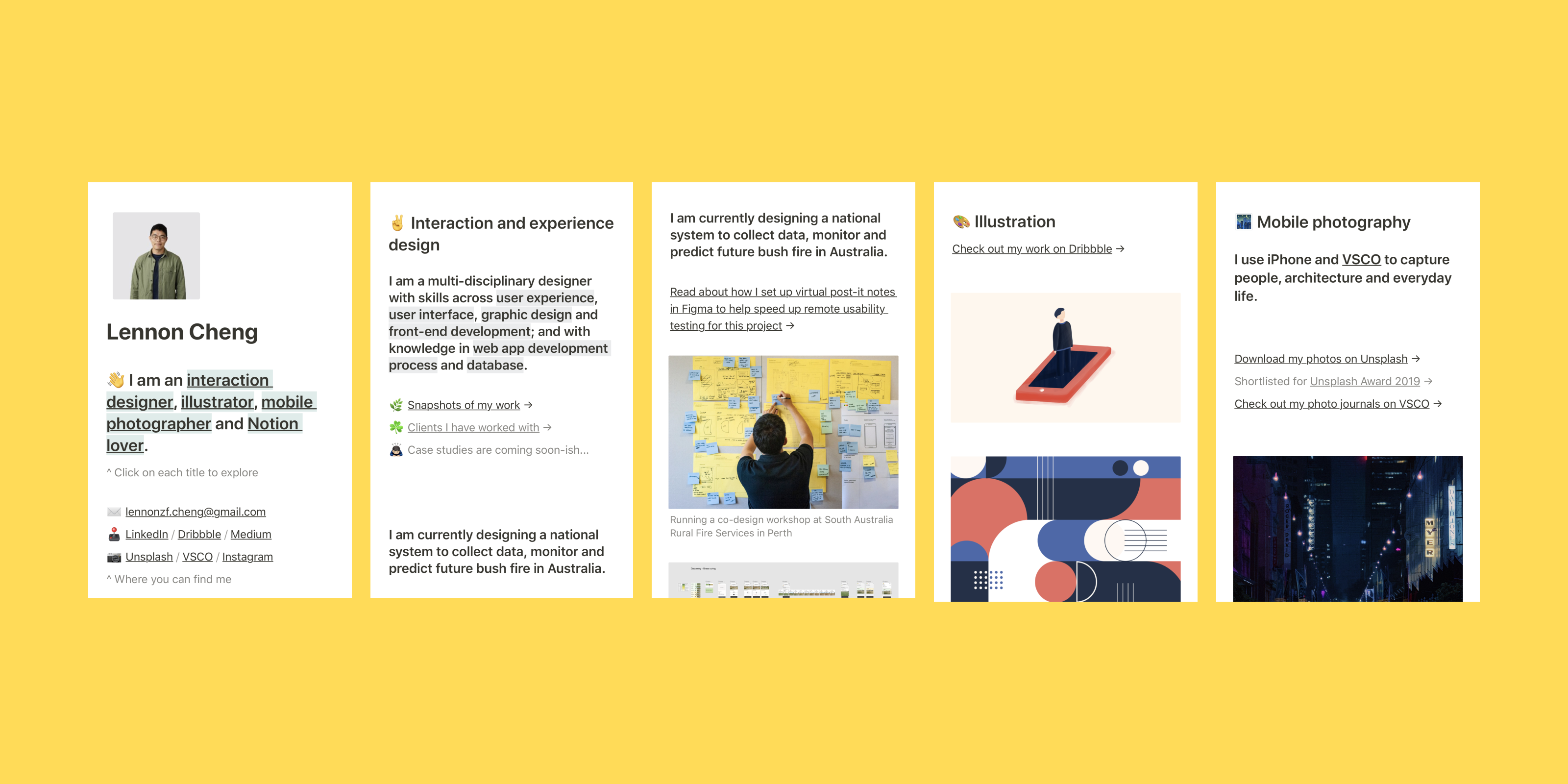 How I Shipped My New Design Portfolio Under 5 Hours By Lennon Cheng Ux Collective