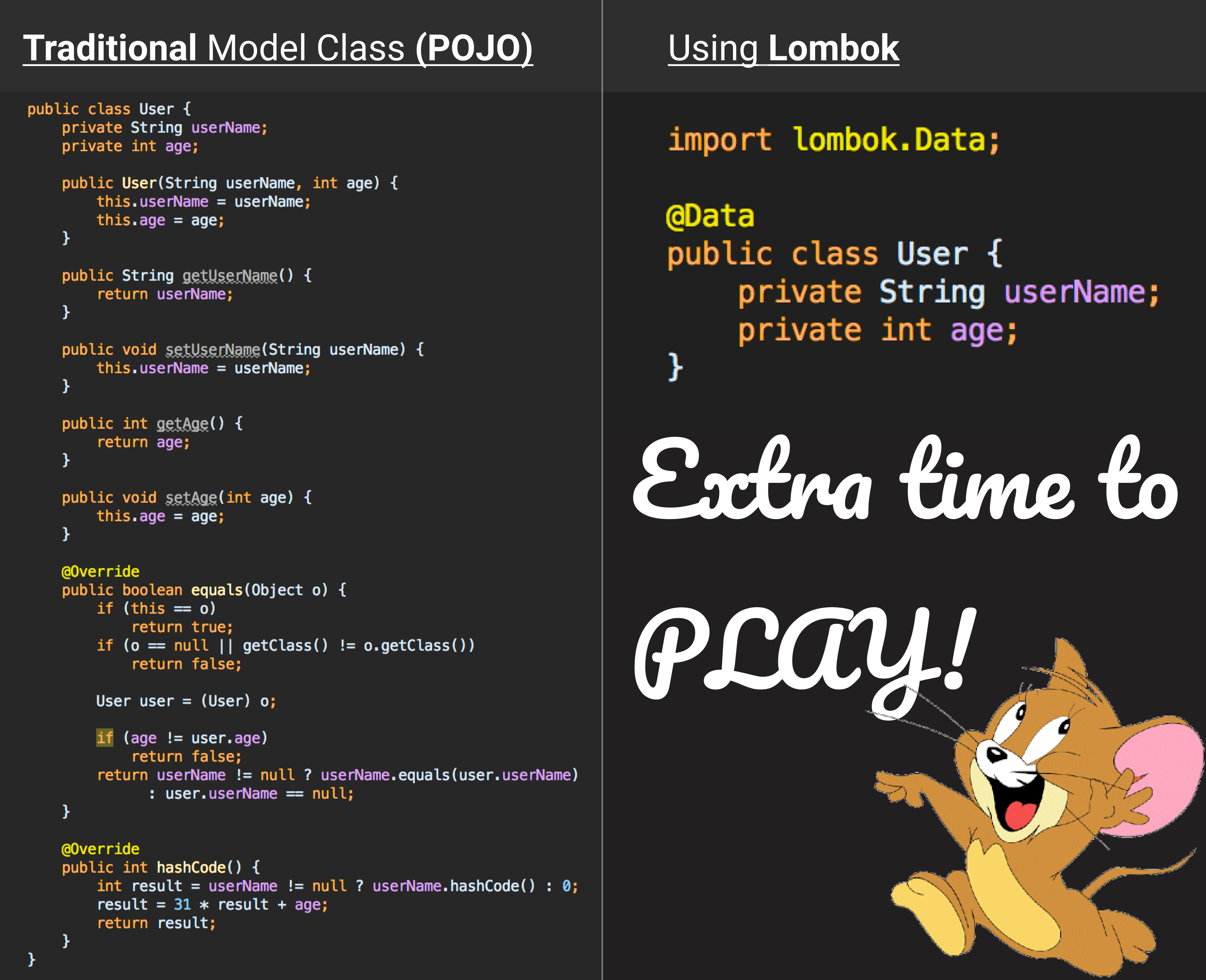 Getting rid of boilerplate code with Lombok (Android)