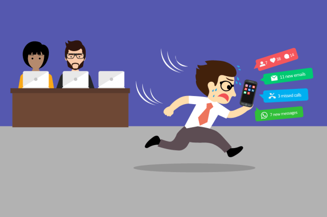 Fear of missing out (FOMO) in the workplace
