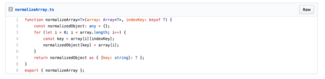 How To Cast An Array Of Objects Into A Dictionary Object in Typescript