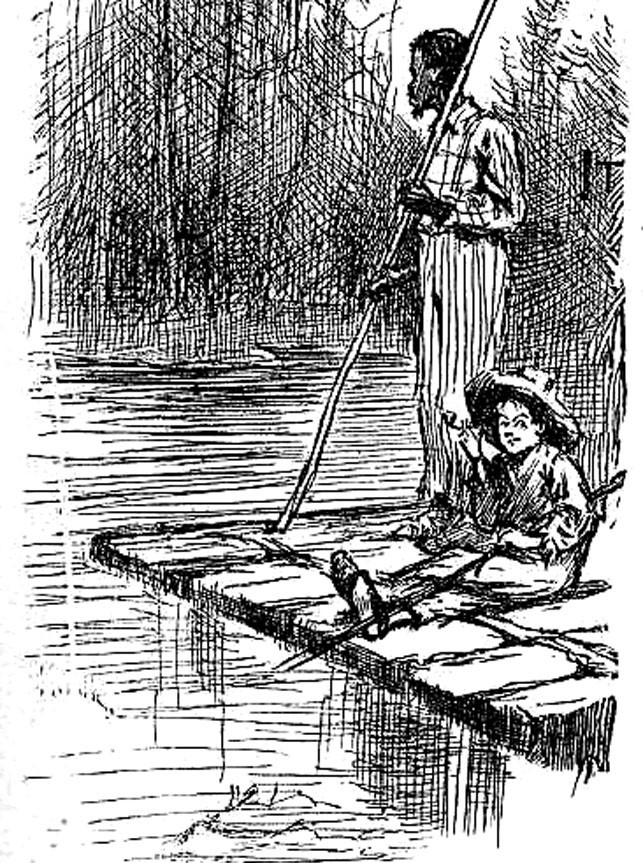 Huckleberry Finn The Epic Of American Literature James Lewis
