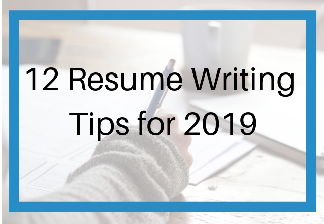 12 Resume Writing Tips For 2019 It S Such A Great Time To Advance Your By Jessica H Hernandez Medium