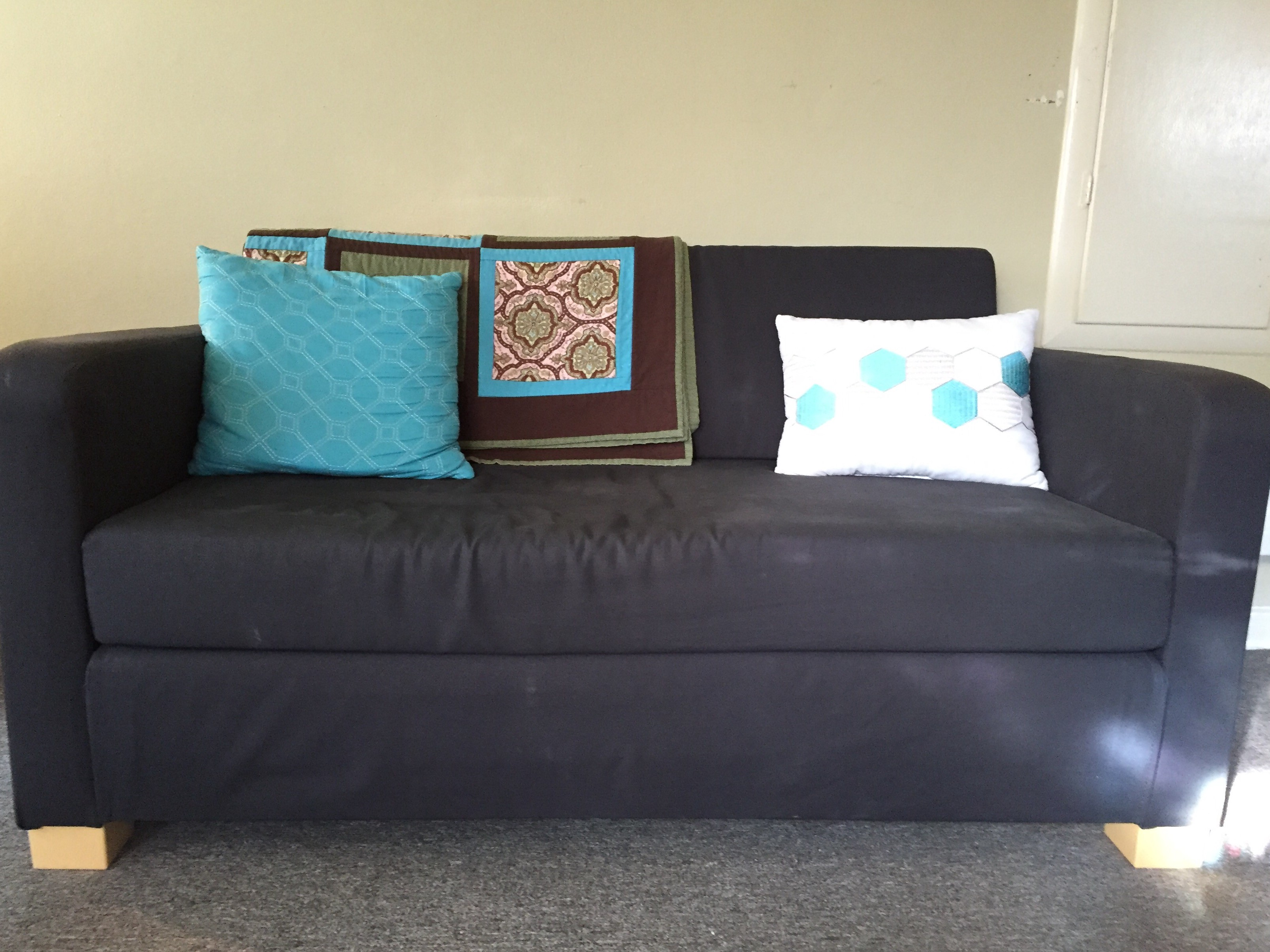 - One Year With Ikea's Second-Cheapest Sleeper Sofa By Nicole