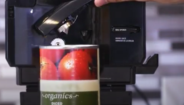 Counter Mounted Electric Can Opener