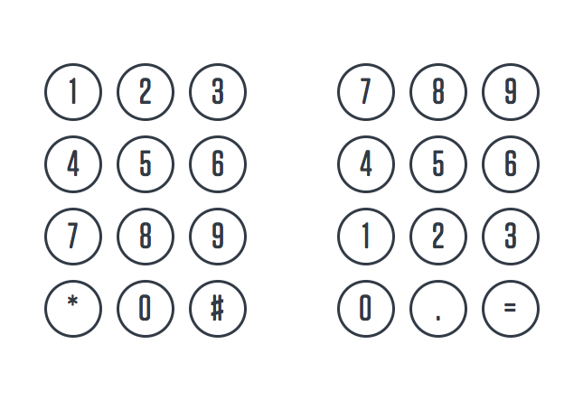A Brief History Of The Numeric Keypad Ux Collective