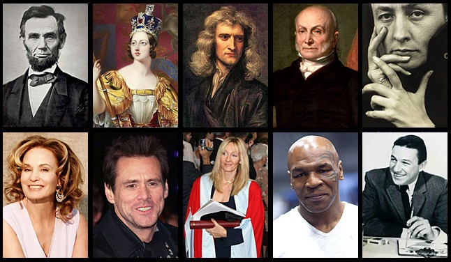 TWELVE FAMOUS PEOPLE WHO WERE SUCCESSFUL DESPITE THEIR