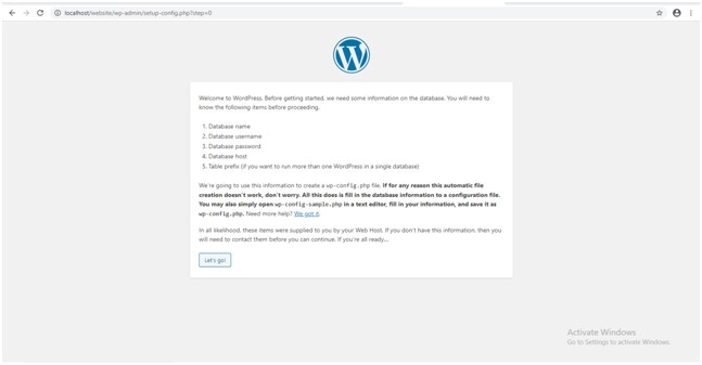 run wordpress