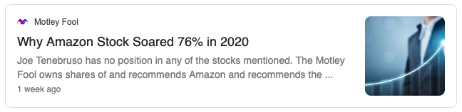 Amazon stock surged in 2020, as Jeff Bezos made the most of the pandemic economy.