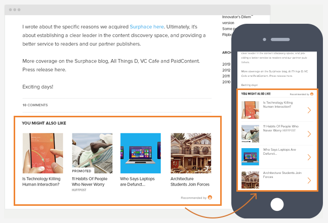 Google should be wary of Outbrain, but might Facebook swallow them both?