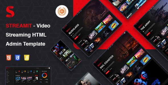 Video Streaming VueJS, HTML Admin Template | Streamit | Iqonic Design  10 Winning Bootstrap Admin Dashboard At Snap Of Your Finger! 1 z0wubNrRwuYcT z5hB8m3Q