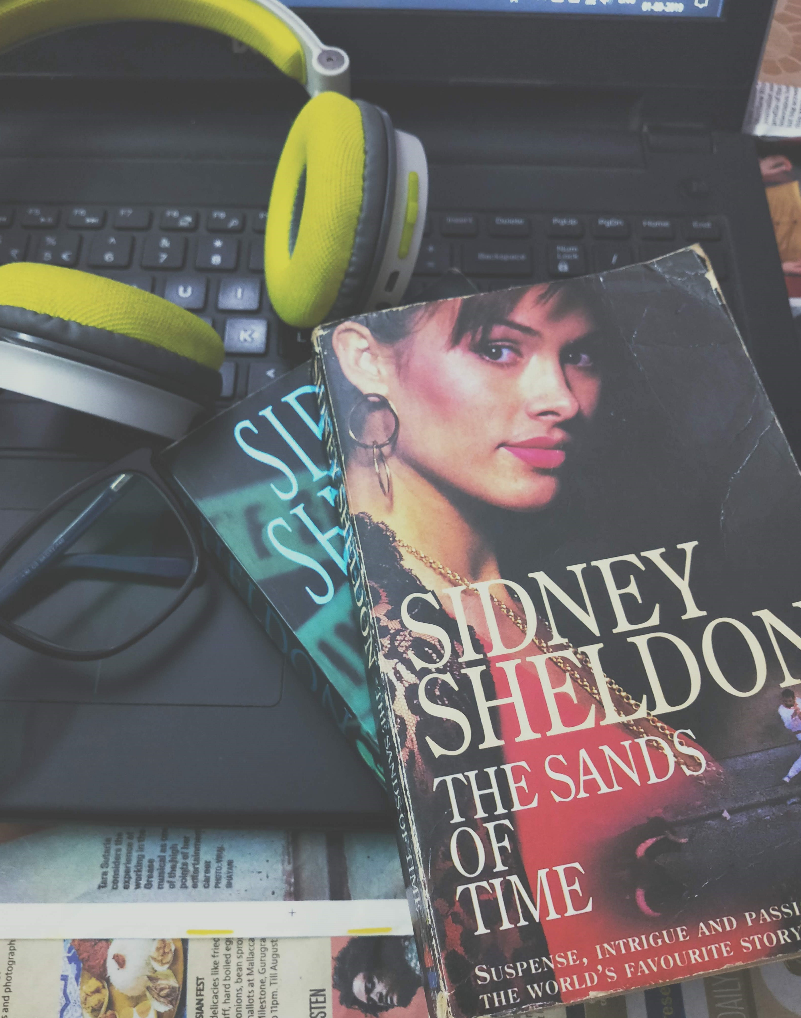Book Review The Sands Of Time By Sidney Sheldon By The Genreless Ghost Medium