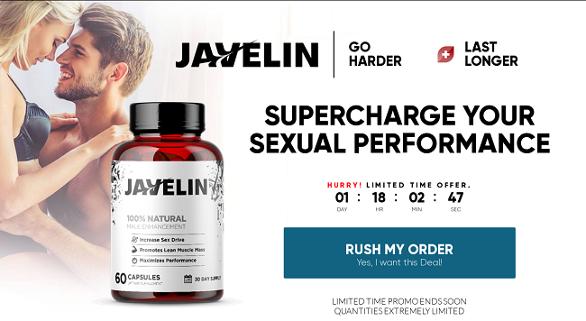 javelin Male Enhancement Exclusive Reviews, Price and Where to Buy?