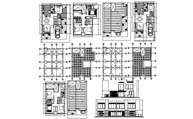 2 storey residential house 8 50mtr x 10 50mtr with detail