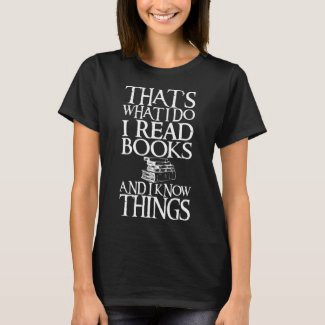Funny tee for women who love reading books