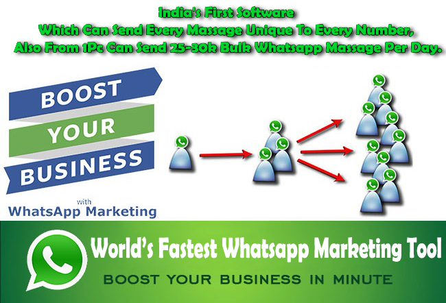 Whatsapp marketing and bulk whatsapp sender: - Mahipal Singh