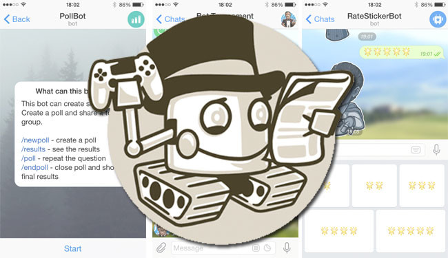 Making self-managed Telegram channel without a single line