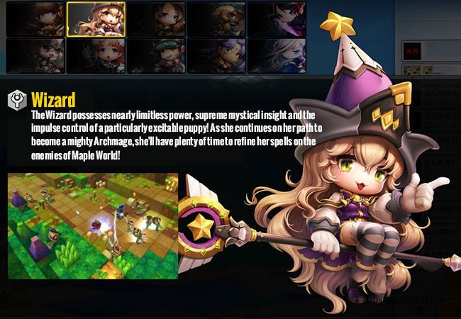 MapleStory 2 One of the best PK strong, Wizard PVP deep analysis