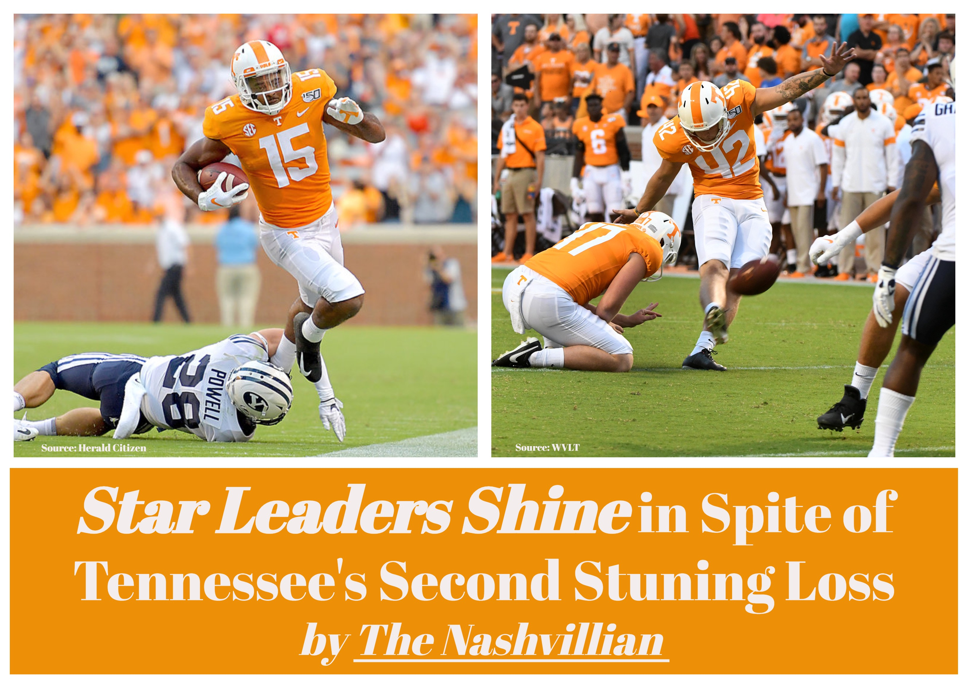Leaders Shine In Spite Of U T S Second