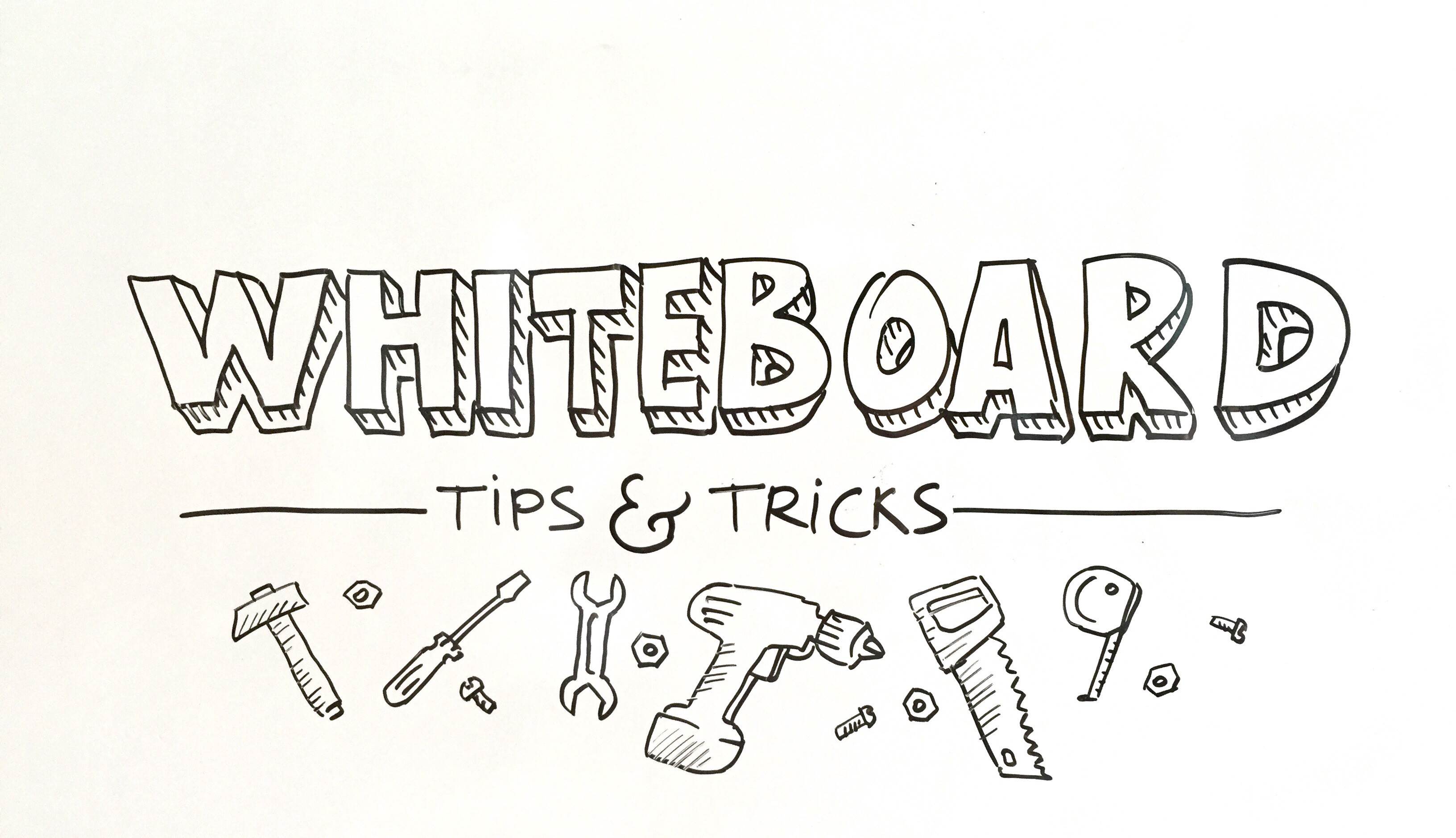 Whiteboard Tips And Tricks Graphicfacilitation Medium
