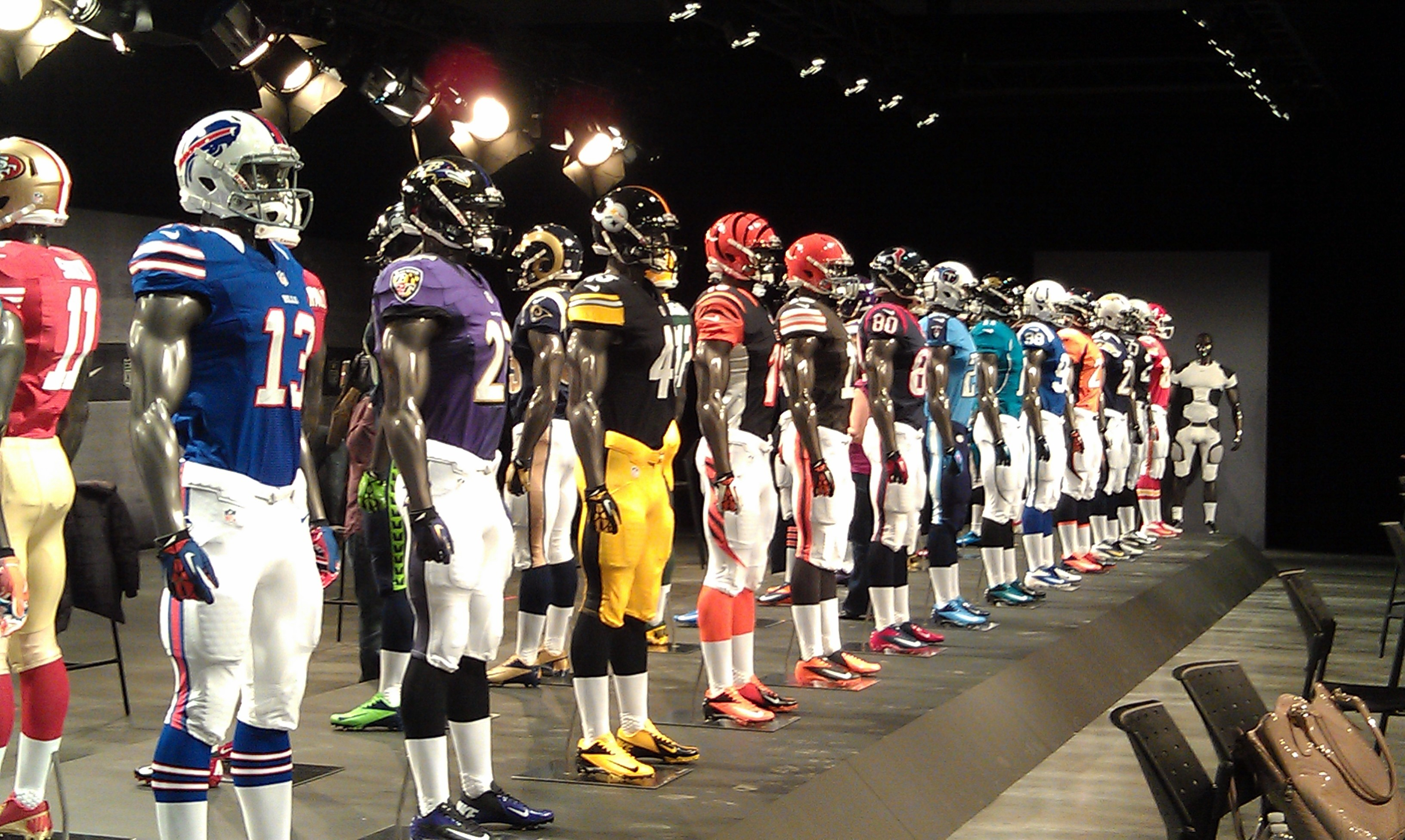 Ranking All 32 NFL Uniforms. NFL uniforms — there's the good, the ...