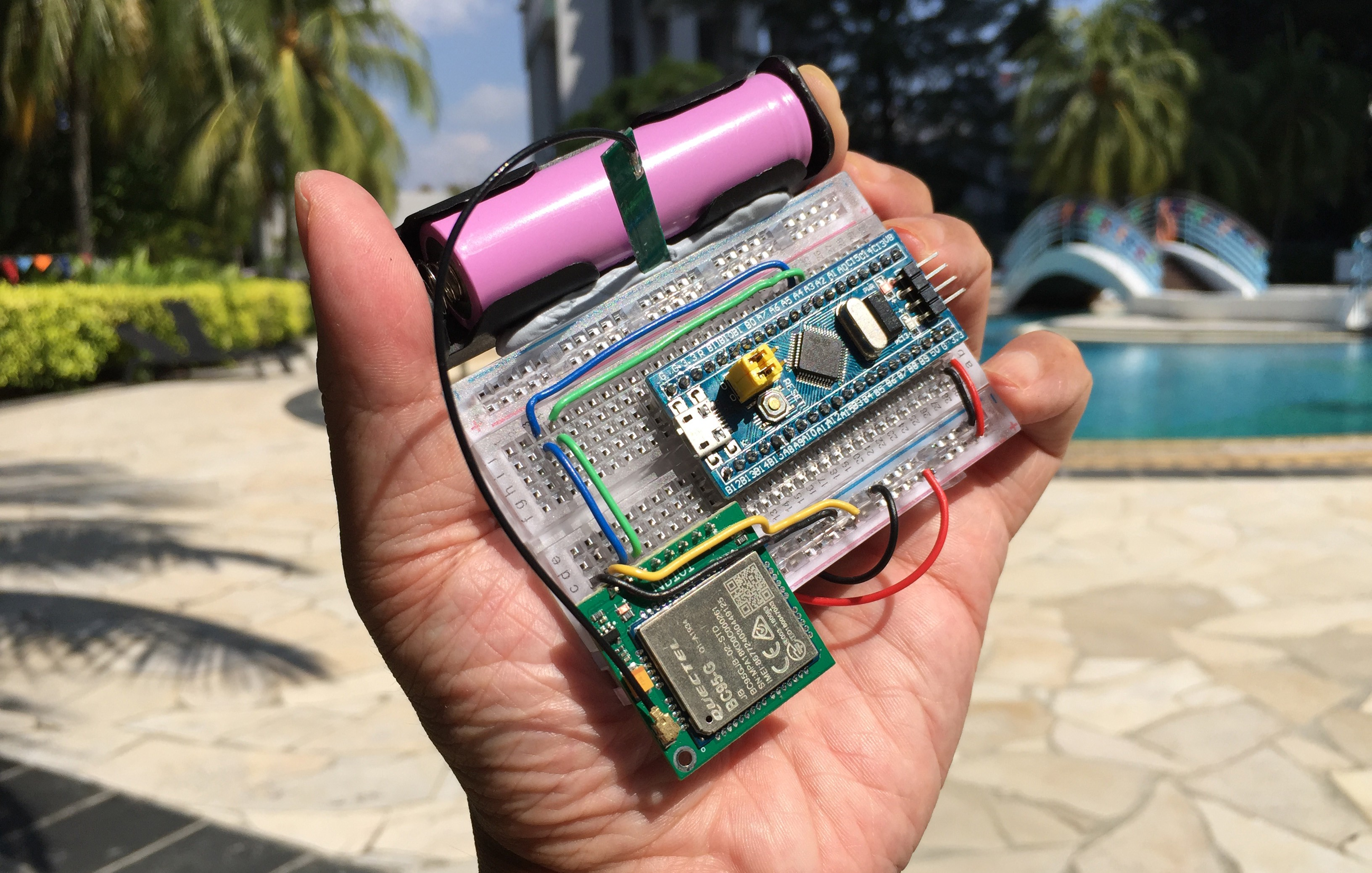 Rust Rocks NB-IoT! STM32 Blue Pill with Quectel BC95-G on