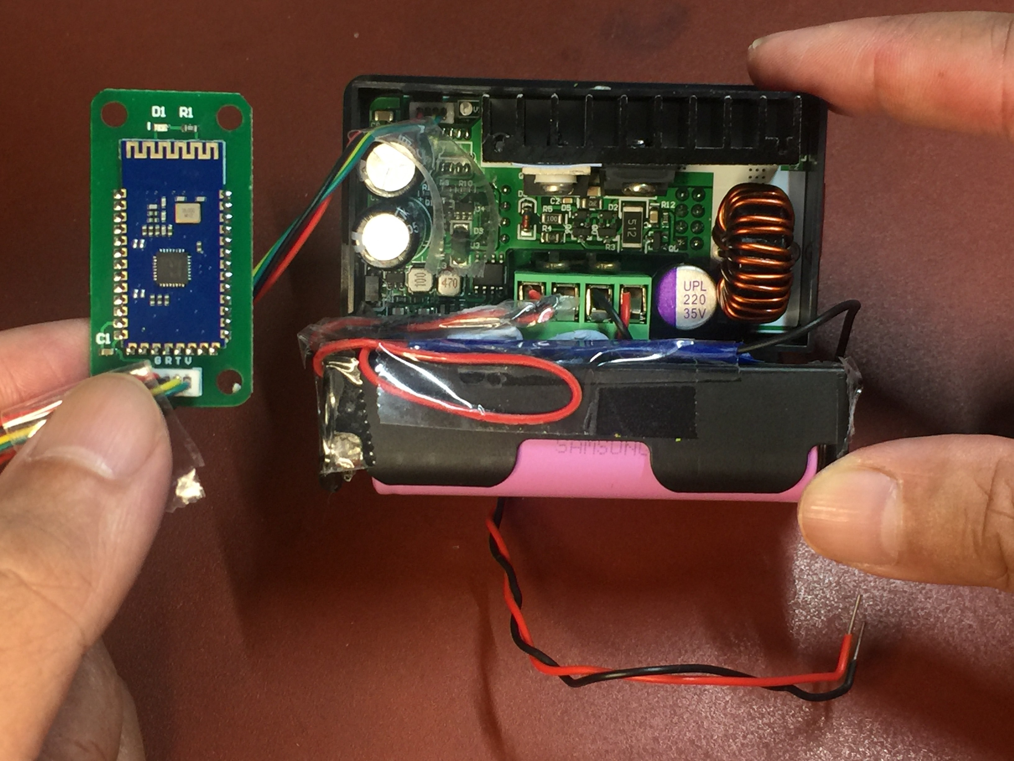Bluetooth module for DPS 3005 Power Monitor