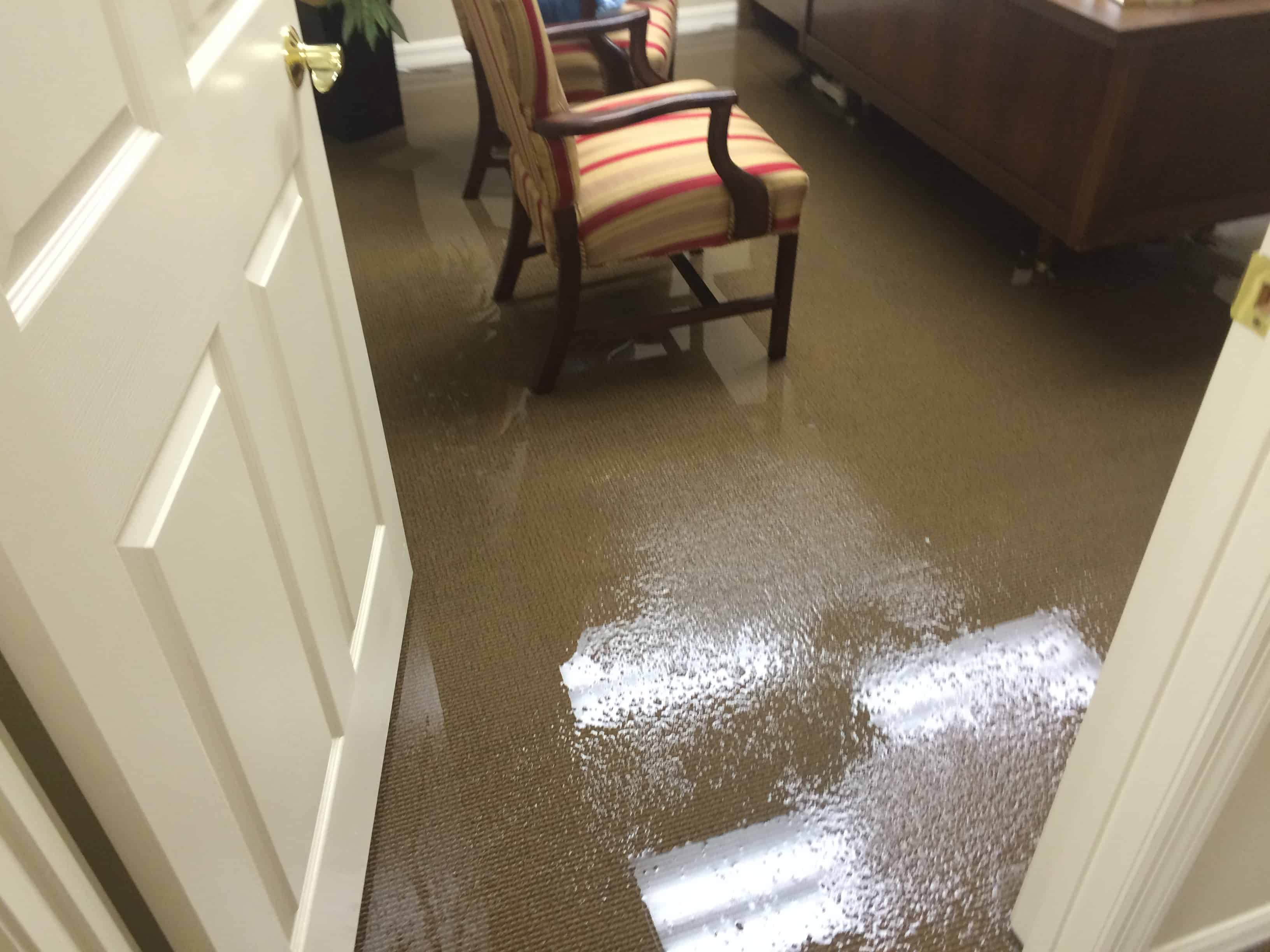 water damages
