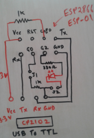 ESP8266 ESP-01 and IoT of LED — Part 1 - Mudassar Tamboli - Medium