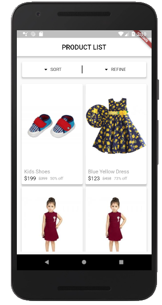 E-Commerce app using Flutter — Part 3: Remote data - The GeekyAnts Blog