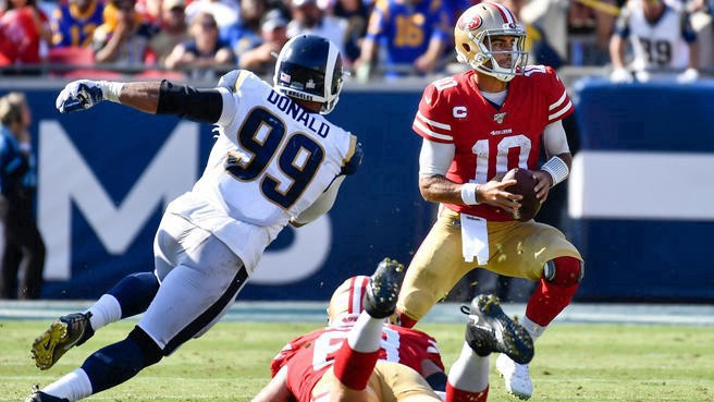 2019 Nfl Free Los Angeles Rams Vs San Francisco 49ers