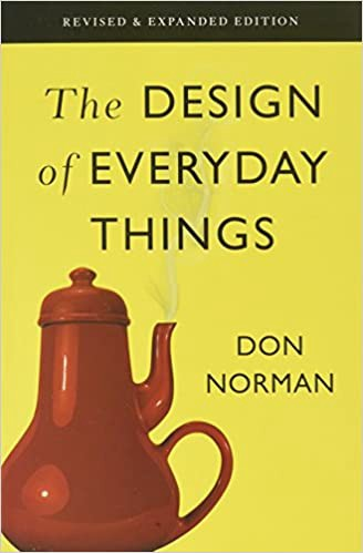 Book cover for The Design of Everyday Things by Don Norman