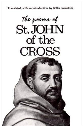 """Cover of """"Poems of John of the Cross"""" with pencil sketch of the saint."""