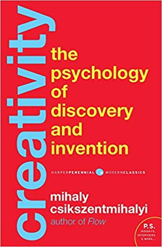 Book cover for Creativity: The Psychology of Discovery and Invention by Mihaly Csikszentmihalyi