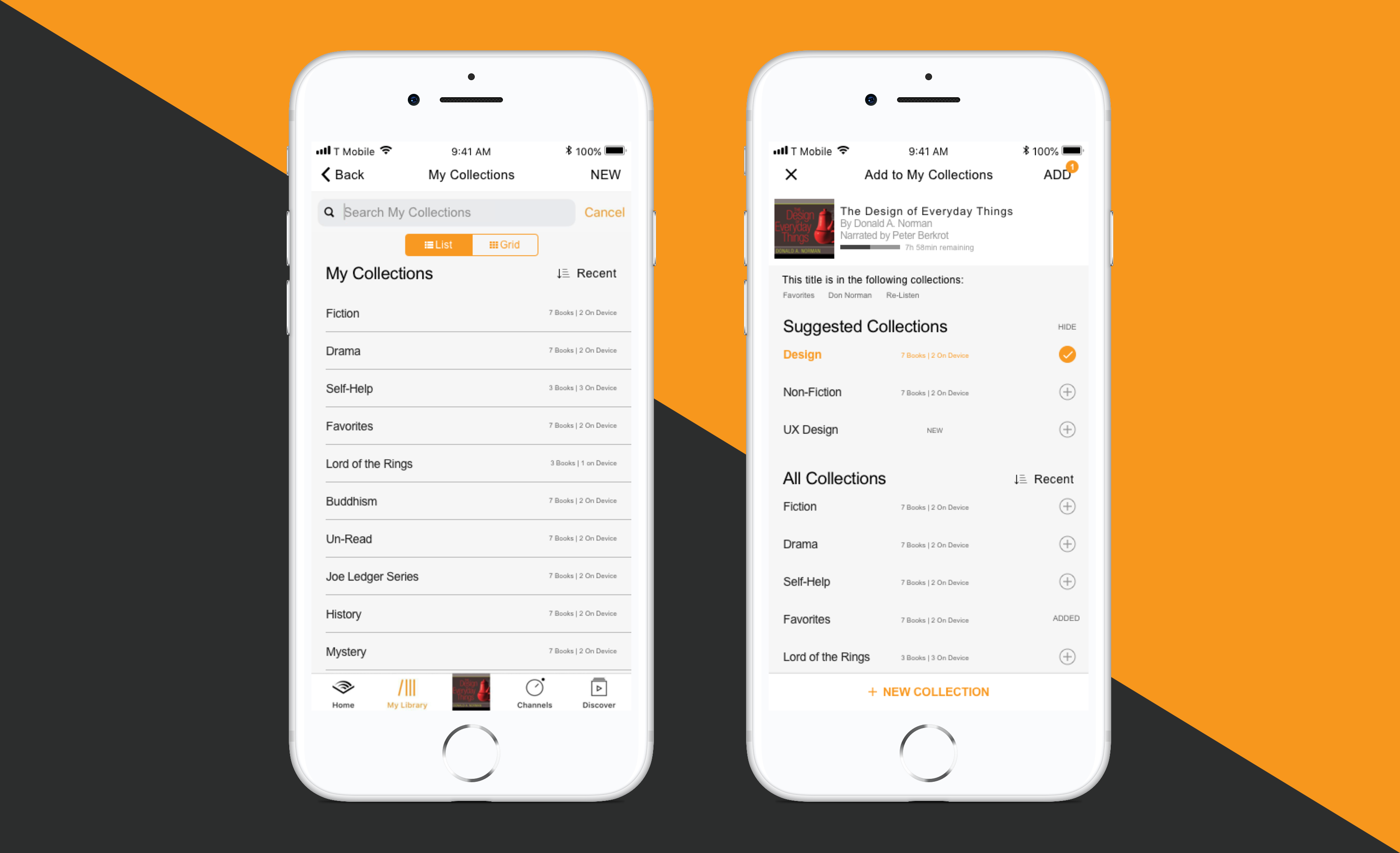 Taking control of your audible library — a UX case study