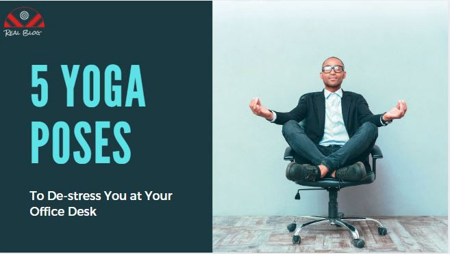 6 Seated Yoga Poses At Your Desk Slouching At Your Office Desk For More By Madhukar Sita Jangir Medium