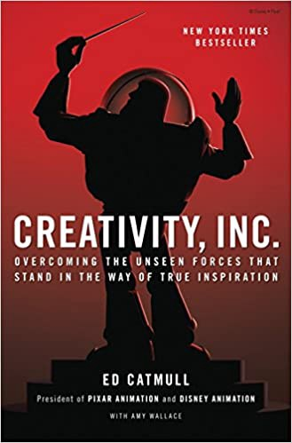 Book cover for Creativity Inc by Ed Catmull