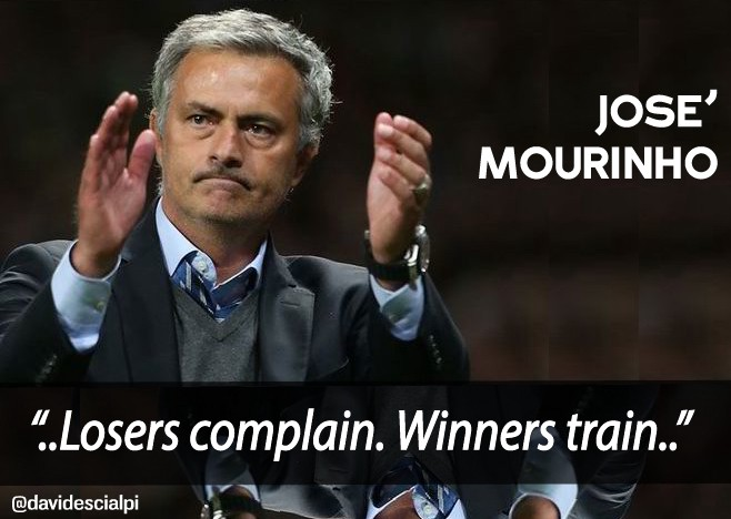 José Mourinho\'s quotes about Success and Leadership