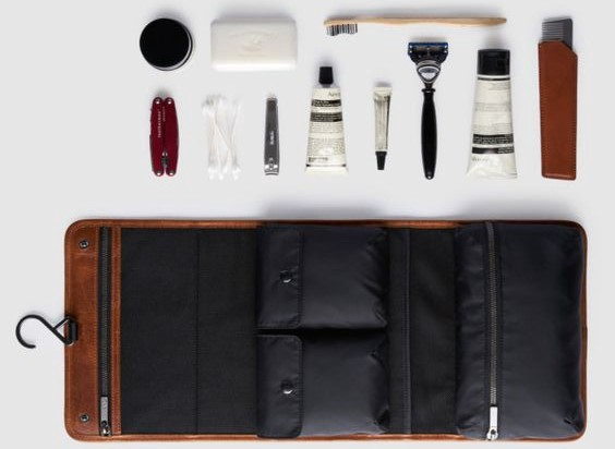 ee795ae002f For those uncultured in the world of men s grooming, you may find yourself  asking  What the hell is a dopp kit  In essence, it s a toiletry bag that  you ...