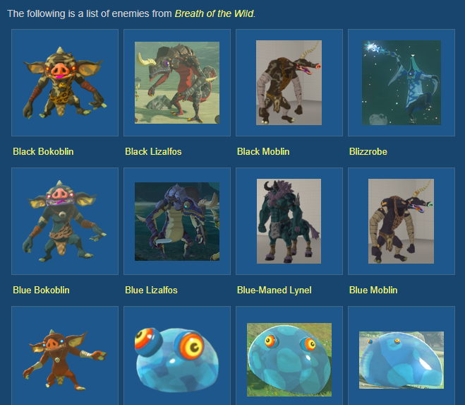 Breath Of The Wild S Monsters Are A Bit Boring By Lucifer Turner Medium